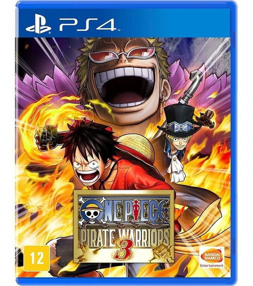One Piece: Pirate Warriors 3 Ps4 Envio Agora