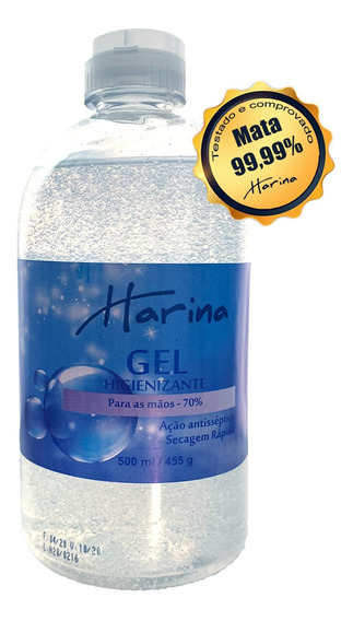 Alcool Gel Harina 500ml