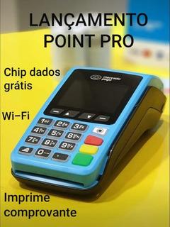 Pronta Entrega Curitiba - Point Pro A Nova Máquina De Cartão