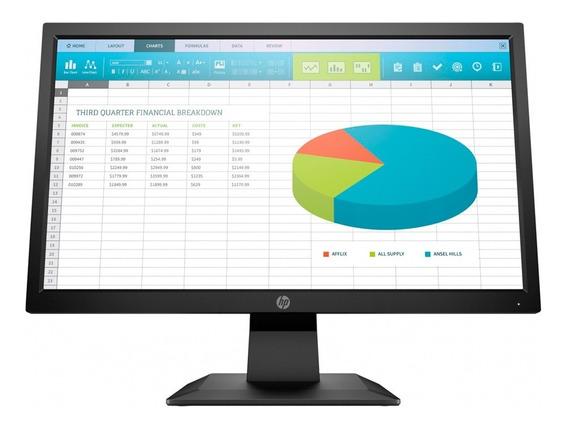 Monitor Led 19,5 Hp P204 Hdmi Vga Hd Garantia Oficial Pc