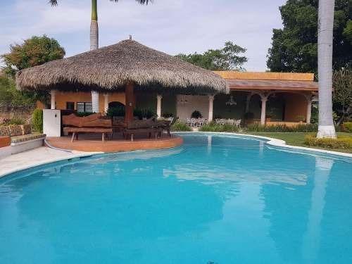 Quinta En Renta Tehuixtla Morelos