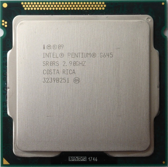 Processador Intel Pentium G645 2.9 Ghz Lga 1155