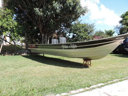 Barco De Alumínio Bico Fino 6 M Usado 2019