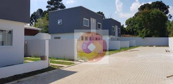 Sobrado Com 2 Dormitórios À Venda, 58 M² Por R$ 225.000,00 - Thomaz Coelho - Araucária/pr - So0040