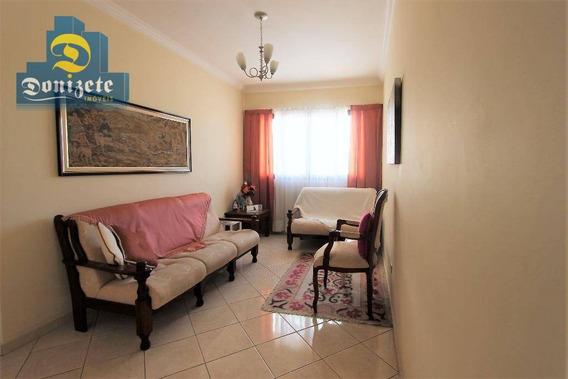 Apartamento Com 2 Dormitórios À Venda, 53 M² Por R$ 299.000,00 - Vila Assunção - Santo André/sp - Ap5307