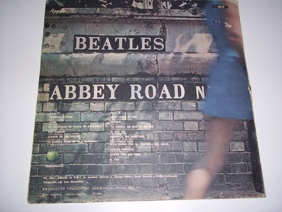 The Beatles, Abbey Road. Año 1969.