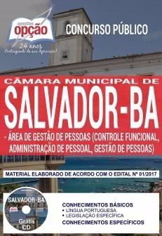 Apostila Câmara Salvador Ba Área De Gestão De Pessoas 2018