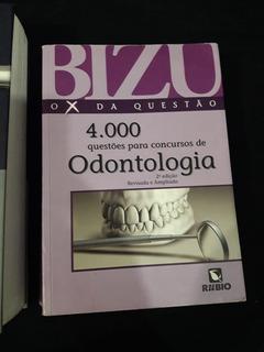 Livro Bizu - O X Da Questão - 4000 Questões Para Concursos D