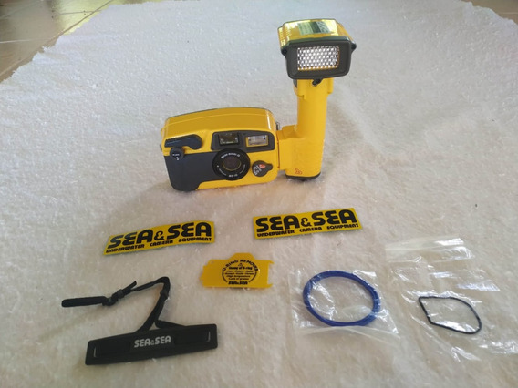 Câmera Subaquática Semi-profissional Sea & Sea Mx-10 + Ys40a