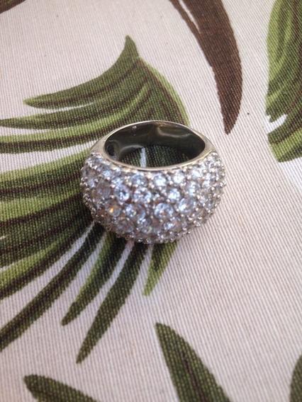 Bw5-anel Pave Prata Zirconias Rodio Kessel
