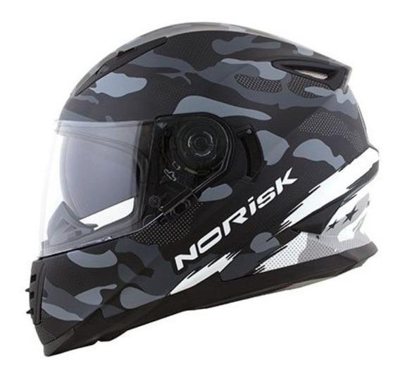 Capacete Para Moto Norisk Ff302 Destroyer
