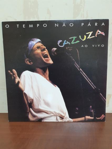 Lp Disco De Vinil Cazuza O Tempo Não Para Ao Vivo 1988