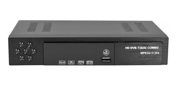 Smart Digital Satellite Tv Receptor Dvb-t2 + Dvb-s2 Hd
