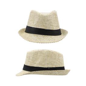 Sombrero Tipo Fedora Color Café Unisex 1-4 Años S278