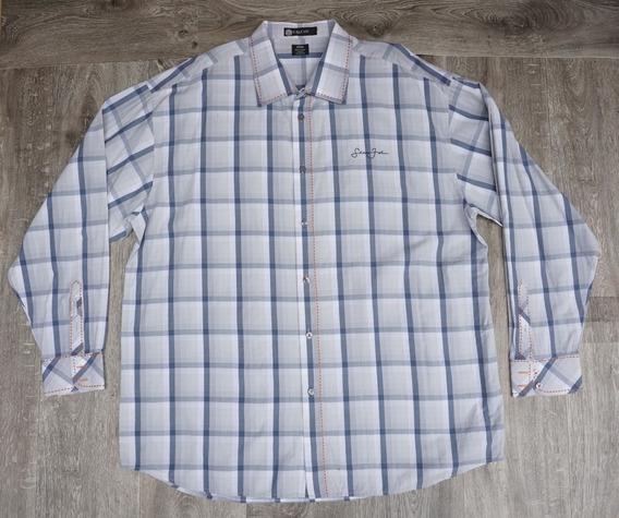 Camisa Sean John 3xl Original Cuadros Big Mens