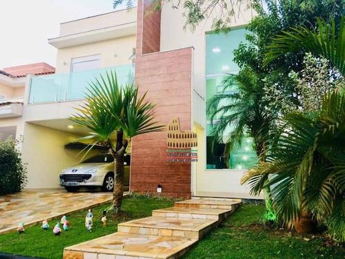 Casa Com 3 Dormitórios À Venda, 350 M² Por R$ 1.150.000 - Condomínio Ibiti Royal Park - Sorocaba/sp - Ca0291
