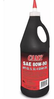 Aceite Cam2 Valvulina 80w90 Para Caja Sincrónica/manual (5v)
