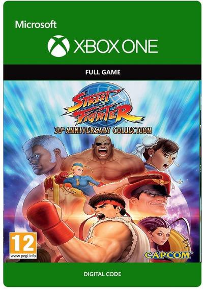Street Fighter 30th Anniversary Collection Xbox One Codigo