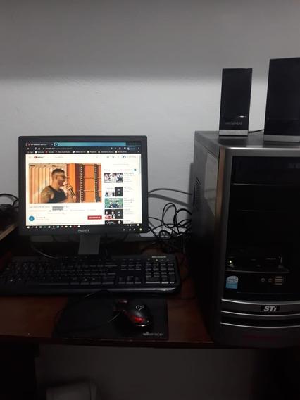 Computador Pc Semp Toshiba Sti Completo Com Wi-fi