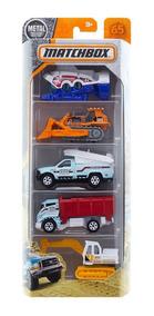 Matchbox Pack Com 5 Ocean Works Fmv30 - Mattel
