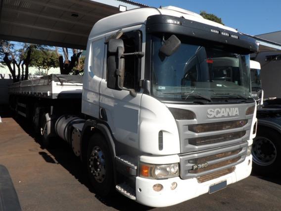 Scania P 360 6x2 2013/2013 + Carreta 2 Eixos Facchini 2013
