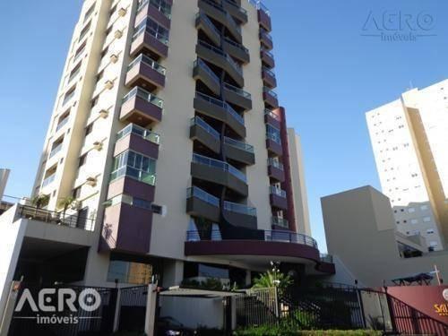 Apartamento Com 3 Dormitórios À Venda, 172 M² Por R$ 760.000 - Jardim América - Bauru/sp - Ap1192