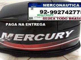 Capo Motor Mercury 15 Super Japonês, Paga Na Entrega
