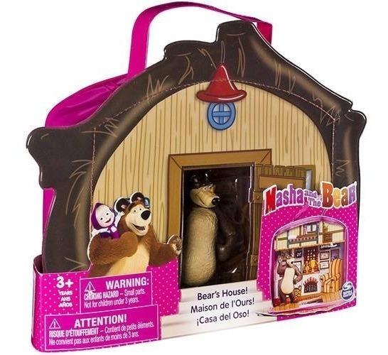 Casa Do Urso Com Personagem Maleta Sunny Brinquedos