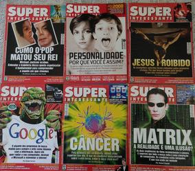 Lote Revistas Super Interessante - 19 Edições