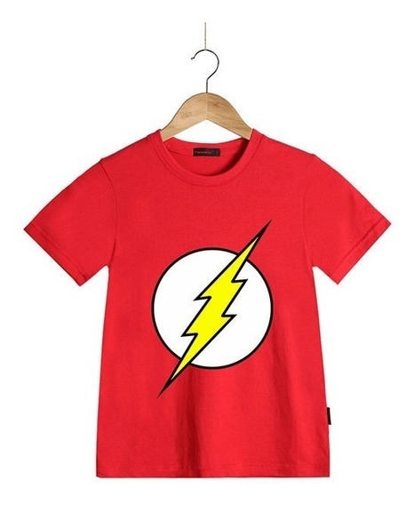 Playera Flash Dc Comix Original Niño