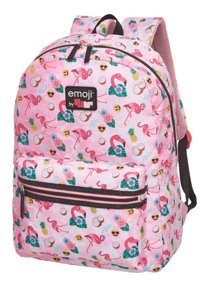 Mochila Cost G Emoji By Pack Me Flamingo - G