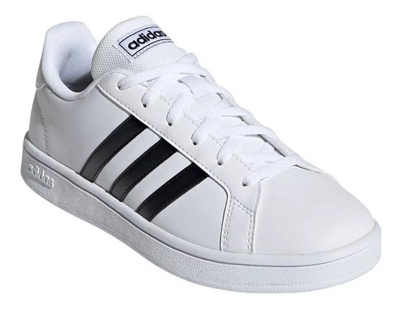 Zapatillas adidas Grand Court Base Mujer Casual Blanco