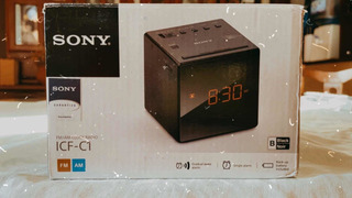 Reloj Despertador Digital Sony! C/ Radio Am/fm! Impecable