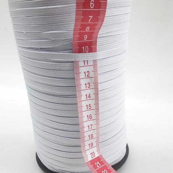 Elastico Embutir Poliester Blanco 5mm X 350metros Elacin