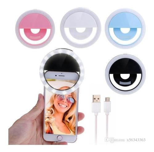 Aro De Luz Selfie Ring Led iPhone Android Recargable Tienda!