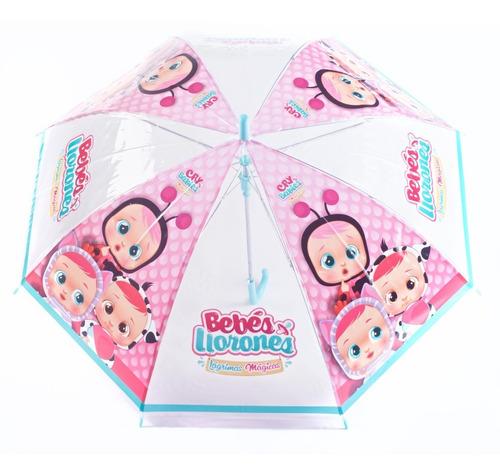 Paraguas Infantil Pvc Cry Babies