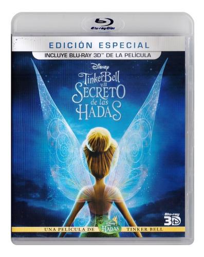 Tinkerbell El Secreto De Las Hadas Pelicula Blu-ray 3d