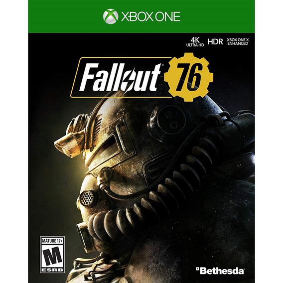 Fallout 76 Xbox One Mídia Física Novo Lacrado Original