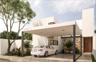 Preventa Hermosa Casa En Residencial Alzare, Dzitya