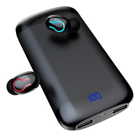 Hbq-q66 Fones De Ouvido Sem Fio Verdadeiros Bluetooth 5.0 +