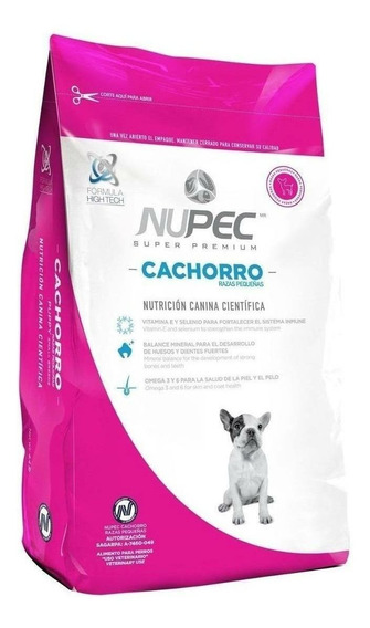 Alimento Nupec Nutrición Científica perro cachorro raza pequeña 2kg