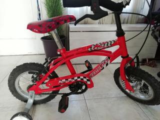 Bicicleta De Spiderman Rodado 12