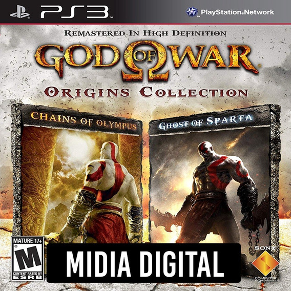 God Of War Ghost Of Sparta Chain Of Olympus - Ps3