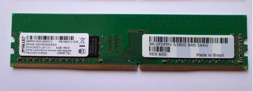 Memória Ram  4gb 1x4gb Smart Sf464128ck8i6gkseg
