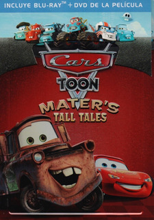 Cars Toon Disparates De Mate Steelbook Pelicula Blu-ray Dvd