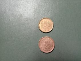 Moneda 50 Centavos Peso Ley 18188