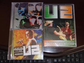 2 Cds + Dvd U2 Pop 1997 + Dvd Cd Live Johannesburg Stadium