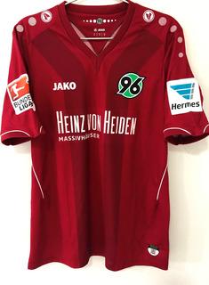 Camisa Hannover 96 Usada Jogo 2014/15 Rankovic 27 Bundesliga