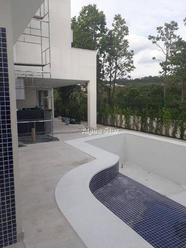 Imagem 1 de 18 de Casa Com 4 Dormitórios À Venda, 380 M² Por R$ 2.500.000,00 - Alphaville 11 - Santana De Parnaíba/sp - Ca2806
