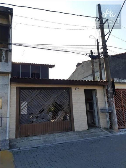 Sobrado Com 3 Dormitórios À Venda Por R$ 380.000 - Parque Maria Helena - Suzano/sp - So0147